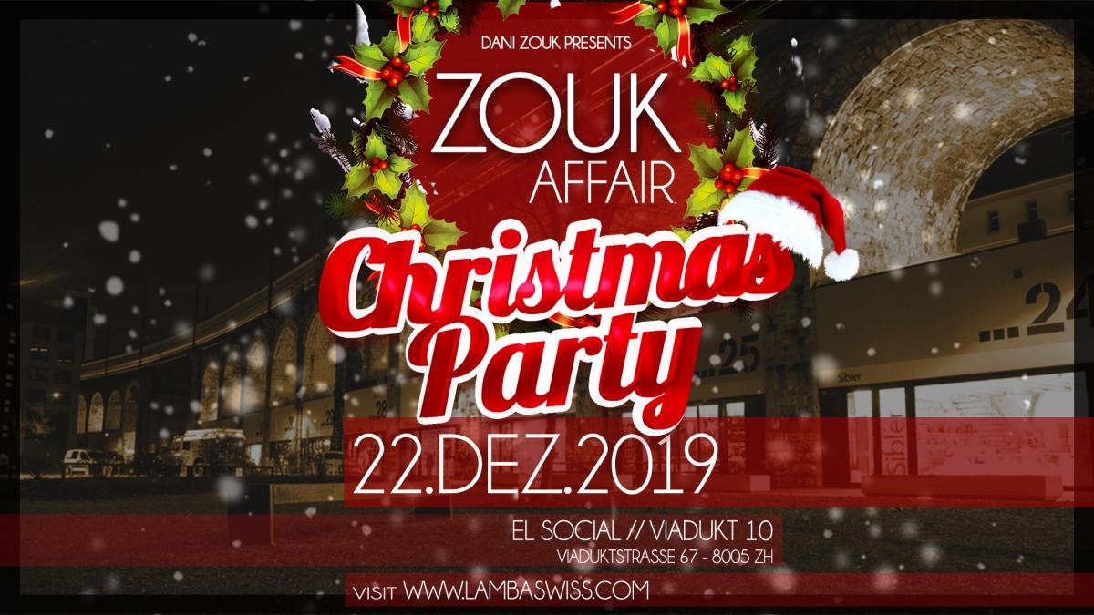 LambaSwiss ZoukAffair Christmas Party Brazilian Zouk / Lambazouk