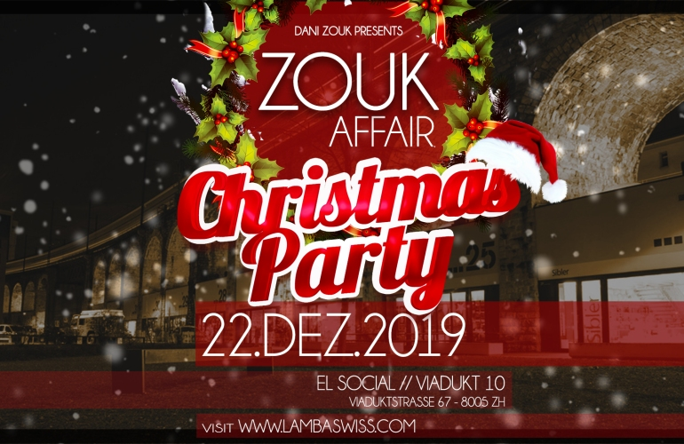 LambaSwiss ZoukAffair Christmas Party Brazilian Zouk / Lambazouk